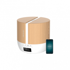 PUREAROMA 550 CONNECTED WHITE WOODY